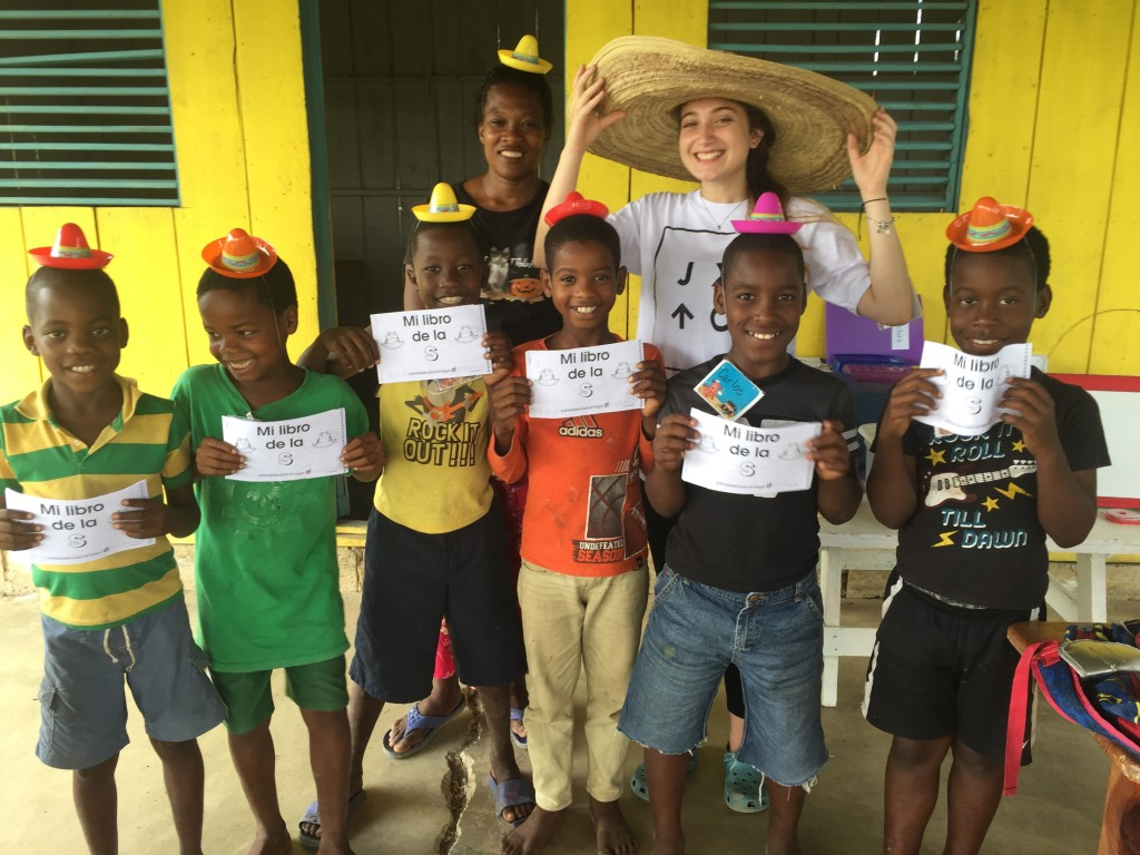 """Using sombreros to teach the letter """"s."""""""